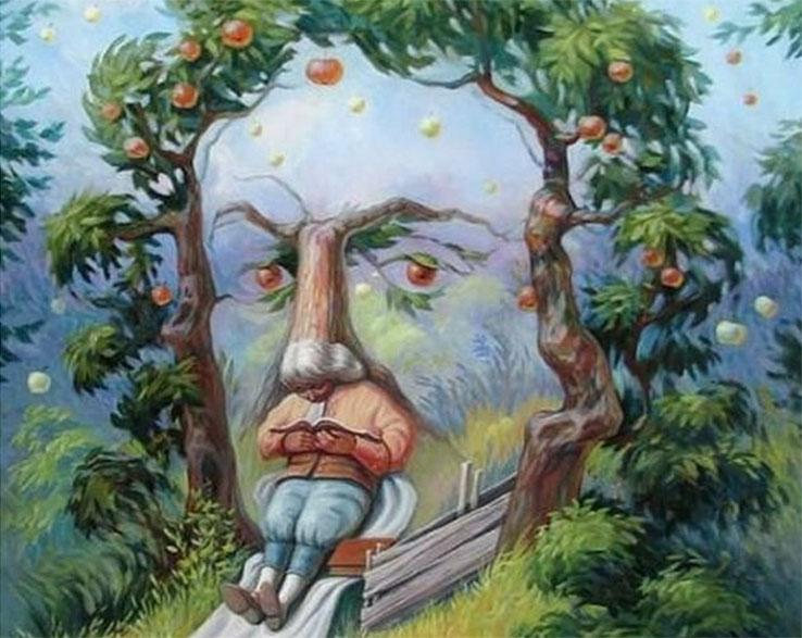 almafa arc önismeret teszt