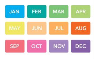 születési hónap