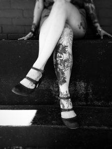 tetoválás személyiség láb tetkó