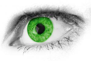 zöld szem különleges egyedi