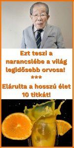 A világ legidősebb orvosa, ezt teszi a narancslébe! Elárulta a hosszú élet 10 titkát! 1