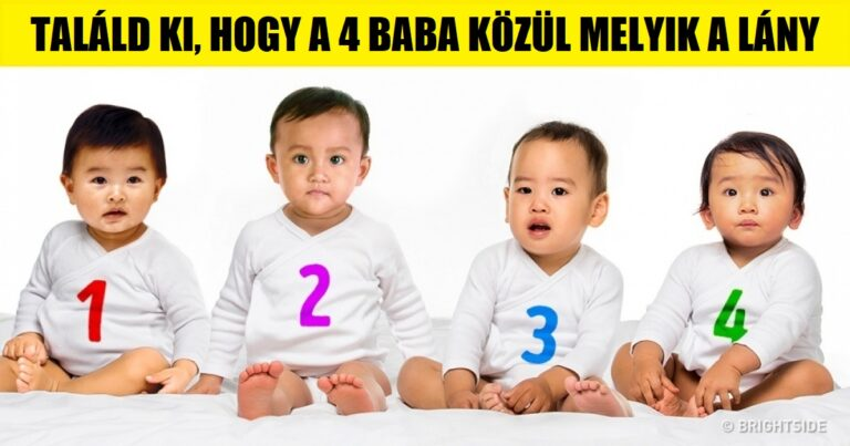 Szerinted Melyik Baba A Lány A 4 Közül? Válaszod Rámutat Problémamegoldó Módszered Természetére! 1