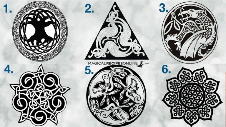 Feltárja a Belső Erőd... Válassz 1 Kelta Szimbólumot! 1