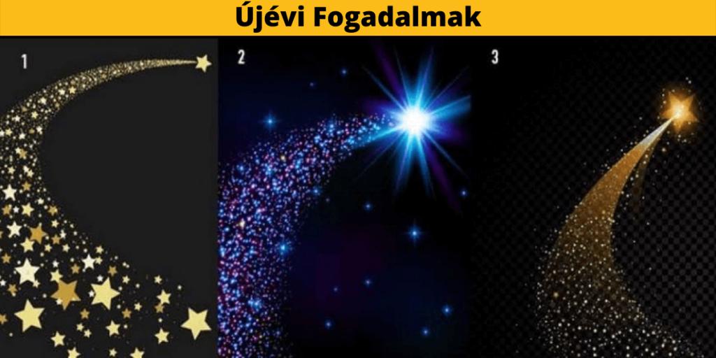 Melyik Újévi Fogadalmad Válik Valóra? Válassz 1 Csillagot és Ismerd Meg 1