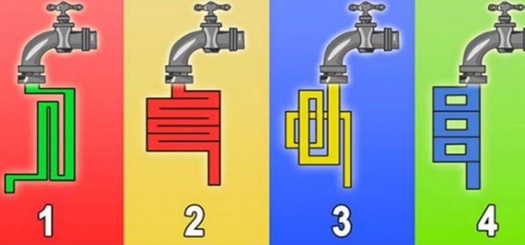 Logikai Teszt: Szerinted Melyik Csapból Folyik Ki Előbb a Víz? 1