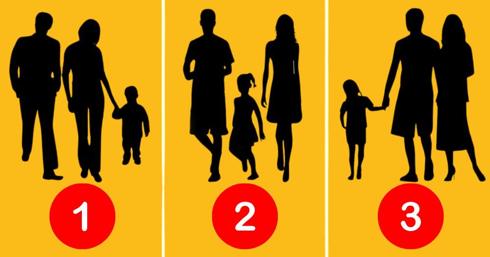 Pszichológiai Teszt: Szerinted Melyik Család Nem Igazi a Képen? A Válaszod Rengeteget Elárul a Családhoz Való Viszonyodról 1