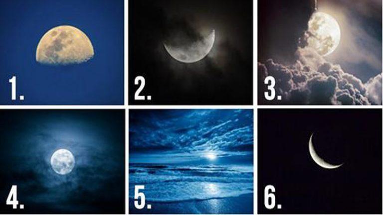 Válassz 1 Holdat! Feltárja a Lappangó Gondolataidat! 1