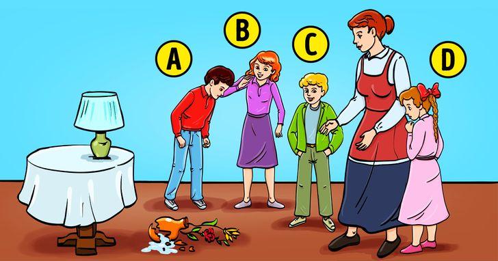 Meg Tudod Fejteni Hogy Ki Törte El a Vázát? Akkor Okosabb Vagy Mint a Nyomozók! 1